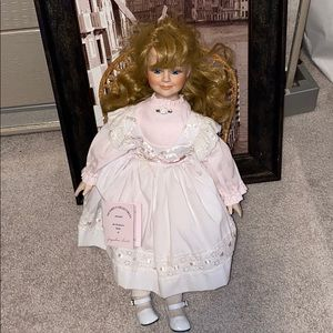 Other - Victoria's collectibles porcelain doll 1996
